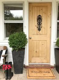 Refinish Exterior Door How To Refinish A Wood Exterior Door Hallstrom Home