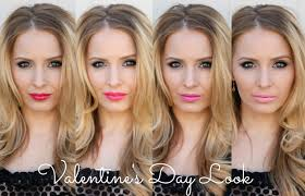 valentines day makeup tutorial beauty tips lipstick