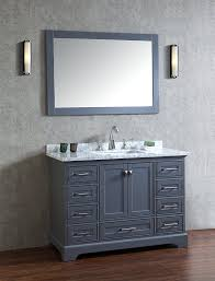 50 Inch Bathroom Vanity by Stufurhome Hd 7130g 48 Cr Newport Single Sink Bathroom Vanity Set