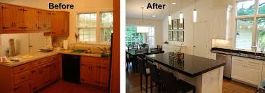 Kitchen Remodel Before After by Northern Virginia Kitchen Remodeling Best Kitchen 2017