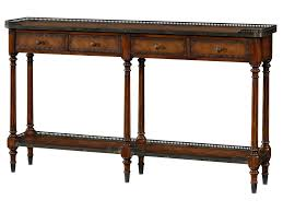 theodore alexander console table theodore alexander essential ta 5300 018bd louis xvi console table
