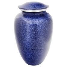 earn for ashes cobalt mist aluminum cremation urn for ashes
