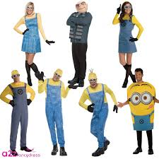halloween costumes minion new ladies mens despicable me gru dave bob minion fancy