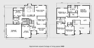 4 bedroom 2 story house plans 4 bedroom 2 storey house floor plans home act