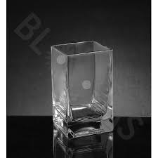 Small Glass Vases Wholesale Wholesale Square Glass Vases Blooms By The Box