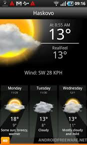 weather apps free android accu weather free android app android freeware