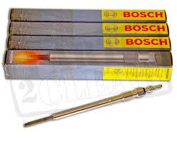 bosch heater glow plugs x 4 fits vw golf mk5 1 9 tdi 2003 2008 bkc