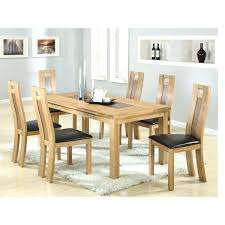 Glass Table And Chairs For Kitchen by Rectangular Dining Table And 6 Chairs Rectangular Dining Table