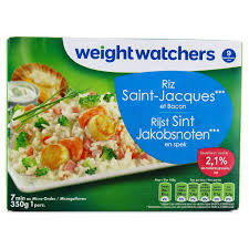 plat cuisiné weight watchers weight watchers riz jacques et bacon 350g houra fr