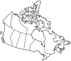 Canada Map With Provinces by Canada Provinces Blank U2022 Mapsof Net