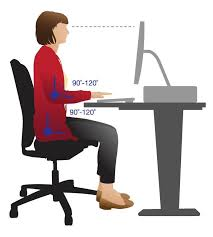 Computer Desk Posture Computer Desk Posture Work And Office Get The Right Posture