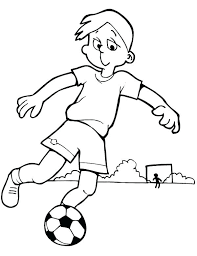 Printable Football Coloring Pages Soccer Coloring Pages Printable Soccer Coloring Page