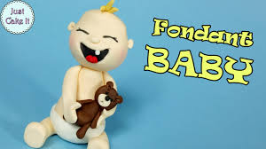 baby cake topper fondant baby tutorial easy baby cake topper diy birthday