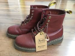 great dr martens dms for life 1460 oxblood cherry red 8 42 mens