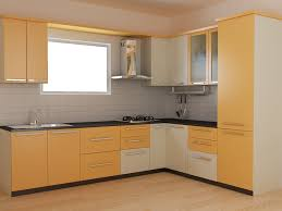 Modular Kitchen Ideas Green Modular Kitchen Designs Parallel Shaped Modular Kitchen