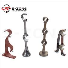 Accessories Kirsch Curtain Rods Intended by Curtain Rod Bracket Lovely Decoration Wooden Curtain Rod Brackets