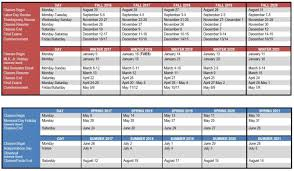 svsu academic affairs academic calendar