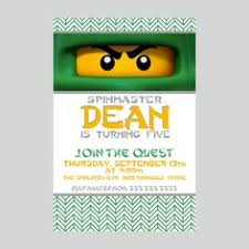 ninjago party supplies custom birthday party invite ninjago invitation lego