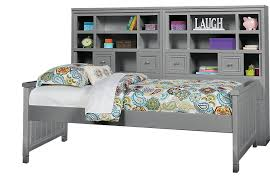 cottage colors gray 5 pc twin bookcase daybed twin beds colors