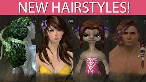 new hairstyles gw2 2015 guild wars 2 new hairstyles october 1st 2013 youtube