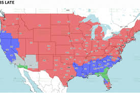 Peyton Colorado Map by Denver Broncos Vs Indianapolis Colts Tv Broadcast Map Nfl Week