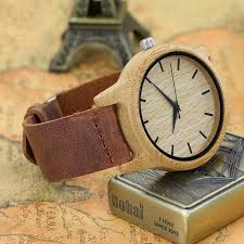 bamboo and wood handmade wood wooden watchs womens wood
