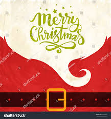 creative greeting card design merry christmas stock vector