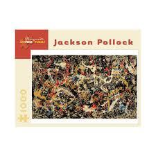 amazon com jackson pollock 1000 piece jigsaw puzzle convergence