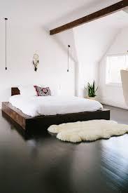 on the floor bed frame susan decoration
