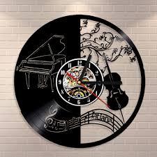 horloge a personnaliser piano horloge murale promotion achetez des piano horloge murale