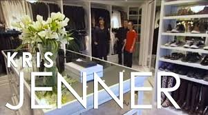 million dollar closets kris jenner u0027s closet la closet design