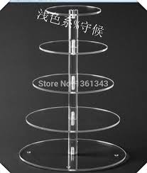 5 tier cake stand hot salet wholesale 5 tier acrylic clear new style