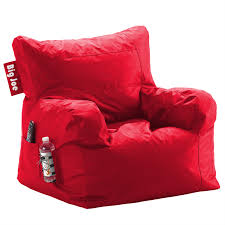 red modern game chair big joe dorm bean bag chair waterproof red
