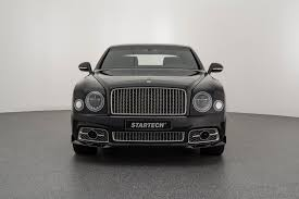 bentley startech startech gives bentley mulsanne a discrete spoiler job