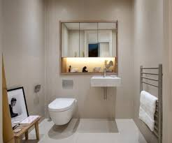 Powder Rooms With Wainscoting Beautiful Recessed Toilet Paper With Room Crown Molding Niche