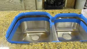 backsplash best caulk for kitchen sink how to install an