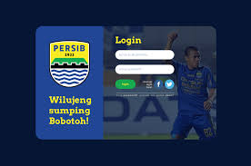 behance login web login screen persib ui ux design on behance portfolio