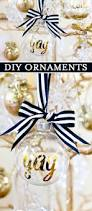 diy personalized ornaments for christmas christmas tree