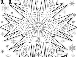 frozen coloring pages snowflakes coloring pages ideas