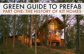 green guide to prefab the history of the prefabricated housing