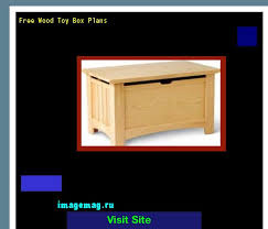 Build Your Own Toy Box Plans by