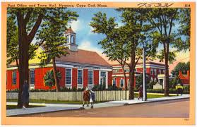 post office and town hall hyannis cape cod mass digital