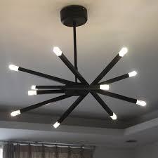 lustre pour bureau moderne lustre le pendentif accroché bras multi branche lumières