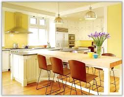 Kitchen Island With Table Seating L Shaped Kitchen Island Designs With Seating Home Design Ideas