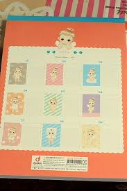 kawaii letter pad angel bebe 63 sheets