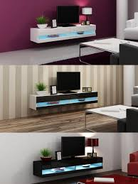 living beautiful led tv fixed in stand with vintage wood tv wall
