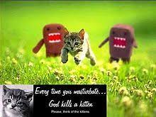 Masterbating Memes - every time you masturbate god kills a kitten wikipedia