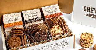 cookie gift grey ghost cookies gift box by grey ghost bakery goldbely