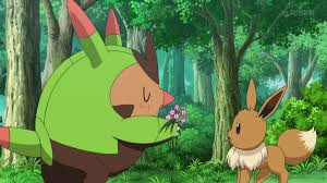 xy095 love strikes eevee yikes pokémon wiki fandom powered
