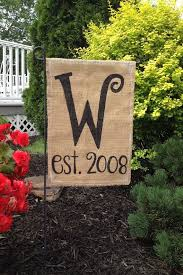 best 25 burlap garden flags ideas on yard flags